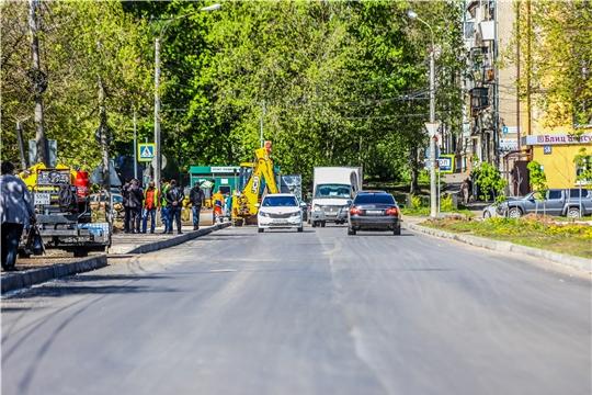 Планы дорожно-ремонтных работ в г.Чебоксары на 21 мая