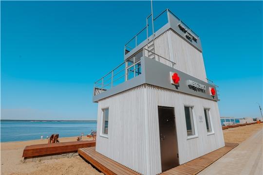 Пляжи к открытию готовы, но купаться в Чебоксарах запрещено