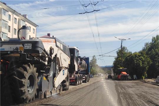 В Чебоксарах на пяти дорогах появится суперпрочное покрытие