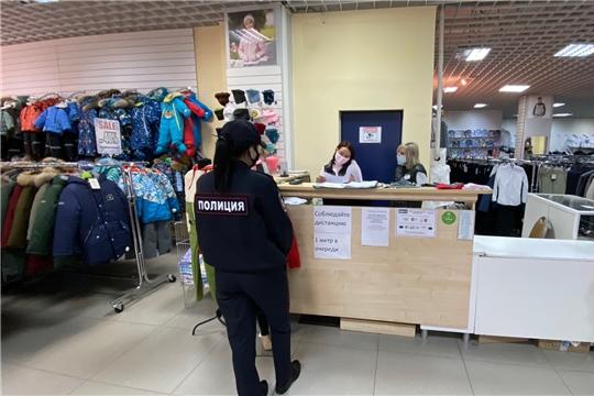В Чебоксарах вновь провели рейды по нераспространению новой коронавирусной инфекции