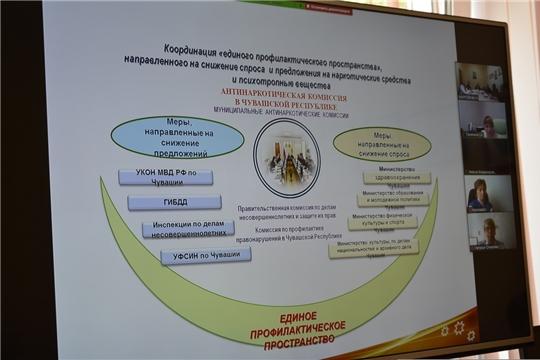 В городе Чебоксары прошли онлайн-мероприятия антинаркотической направленности