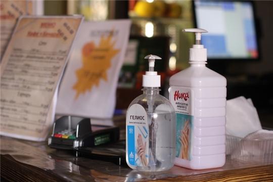 В Чебоксарах мобильные группы проверяют соблюдение санитарного режима