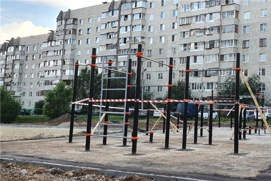 На месте самовольно размещенных гаражей в Чебоксарах появятся новые детские площадки