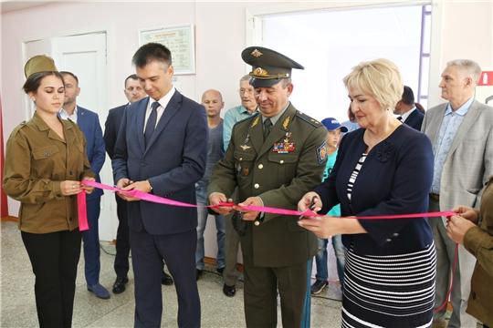 Состоялось торжественное открытие музея «Зал Боевой Славы Чувашского народа»