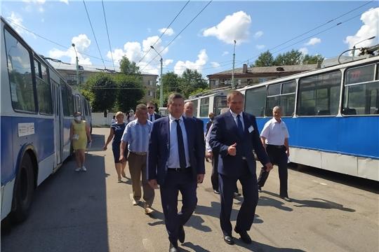 В Чебоксарах и Новочебоксарске скоро начнут курсировать новые троллейбусы
