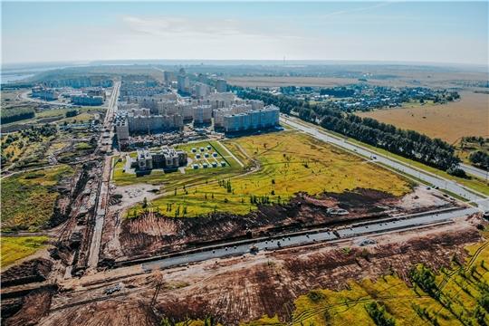 Движение по новым дорогам в микрорайоне Новый город  откроется до конца третьего квартала