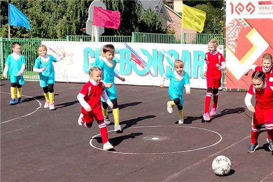 В детских садах города Чебоксары завершилось первенство по мини-футболу