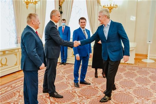 Чувашия развивает сотрудничество с Москвой