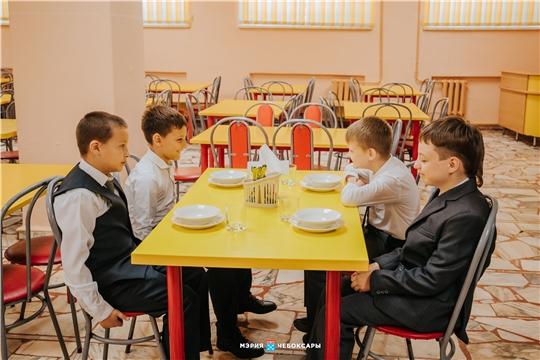 Чебоксарских школьников 1-4 классов обеспечат бесплатными обедами