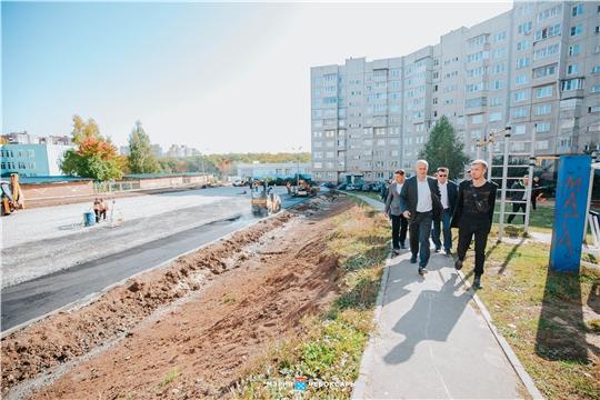 Благоустройство чебоксарских дворов завершится до конца октября