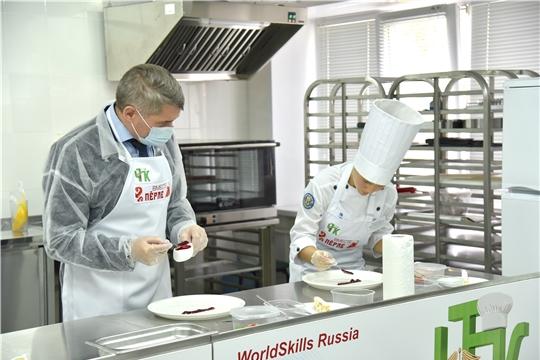 В Чебоксарах состоялся мастер-класс по приготовлению блюд