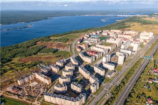 В Чебоксарах план по вводу жилья выполнен на 83%