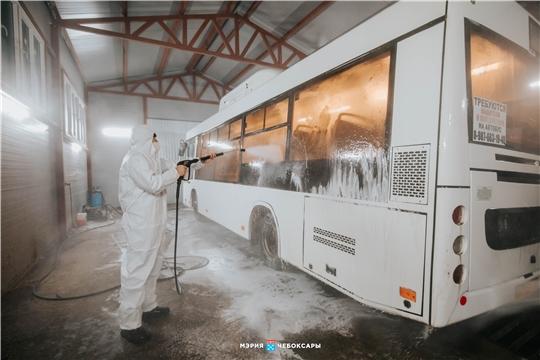 Место повышенной опасности: как дезинфицируют общественный транспорт в Чебоксарах