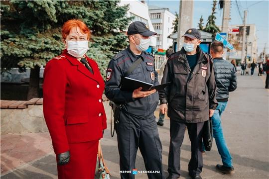 Масочный режим в силе. В Чебоксарах на 142 пассажиров составлены акты за отсутствие маски