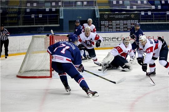 Хоккейный клуб «Чебоксары» продолжает победную серию матчей первенства ВХЛ сезона 2020/2021