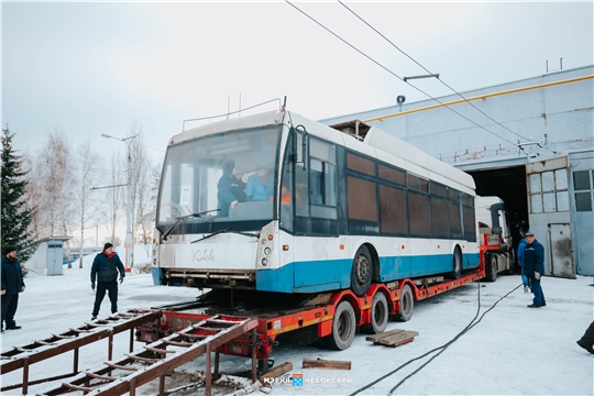 В Чебоксарах обновляется парк троллейбусов