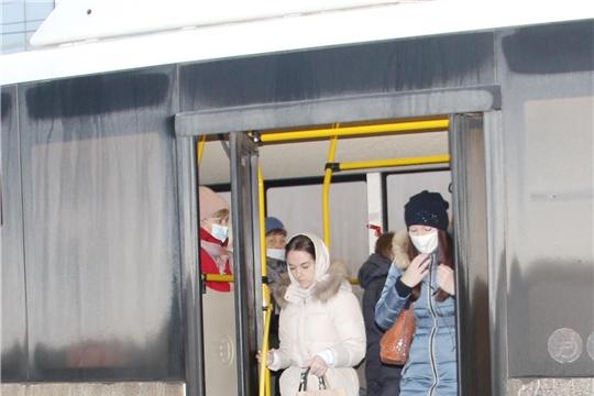 Пассажиры без маски - нарушители! В Чебоксарах составлены акты еще на 10 пассажиров