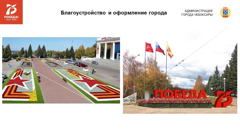 В Чебоксарах к Дню Победы началось благоустройство памятных мест и сооружений