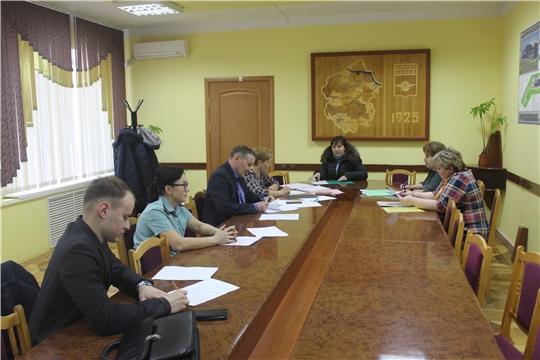 В администрации города состоялось очередное заседание Межведомственной комиссии по вопросам повышения доходов бюджета города Канаш