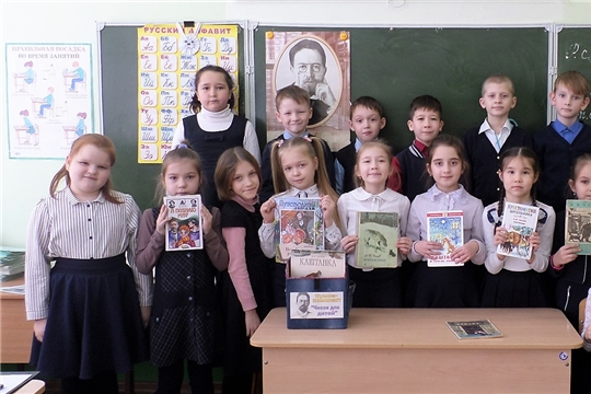 В библиотеке семейного чтения г. Канаш прошли громкие чтения «Мир чеховских героев»
