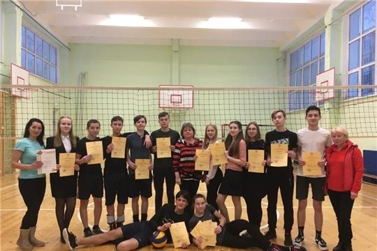 В г. Канаш состоялся муниципальный этап Чемпионата «Школьной волейбольной лиги Чувашской Республики» среди команд общеобразовательных учреждений