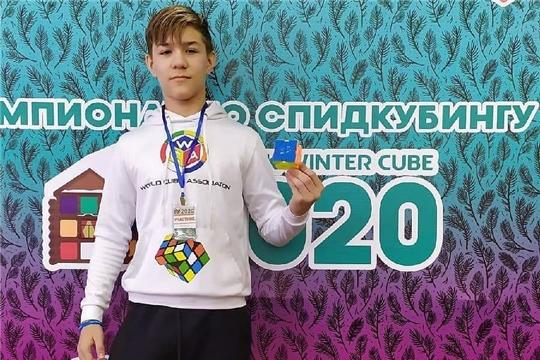 Тринадцатилетний Михаил Глазов из города Канаш стал национальным рекордсменом по скьюбу!