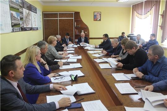 В администрации города Канаш прошло заседание Собрания депутатов VI созыва