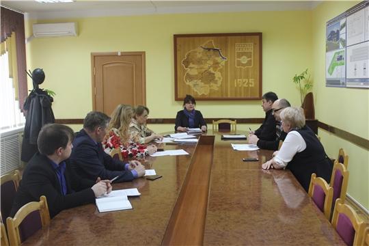 В администрации города состоялось очередное заседание Межведомственной комиссия по вопросам повышения доходов бюджета города Канаш