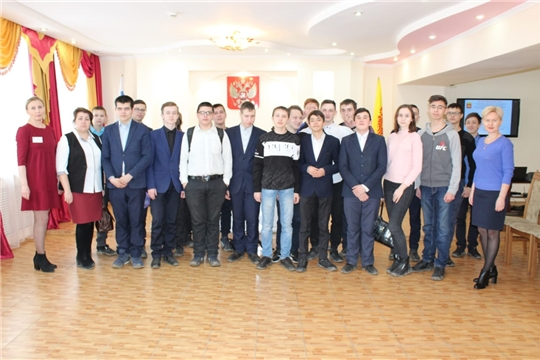 В отделе ЗАГС администрации города Канаш прошла очередная встреча со студентами