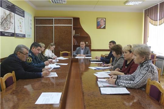В администрации города Канаш состоялось заседание Координационного совета по улучшению условий и охране труда в городе Канаш Чувашской Республики