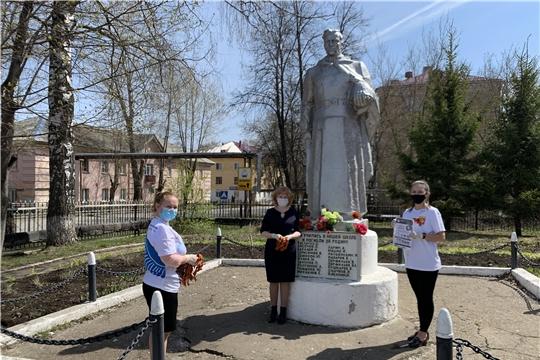 В городе Канаш стартовала ежегодная акция «Георгиевская ленточка»