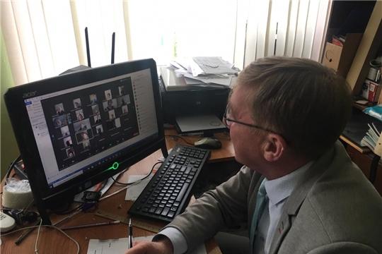 В школе №3 города Канаш состоялся Web-педсовет