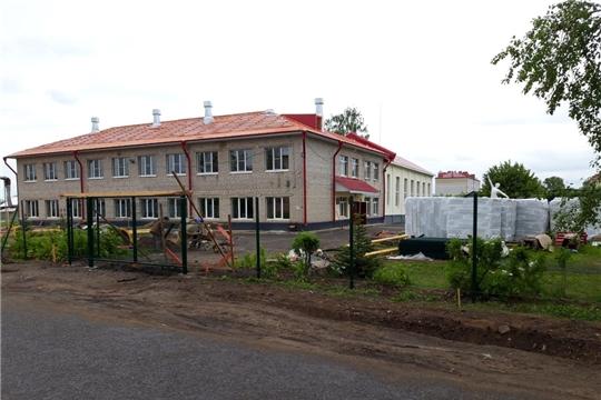В городе Канаш ведется работа по модернизации спортивных объектов
