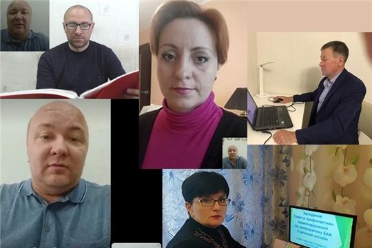 В городе Канаш состоялось заседание Совета по профилактике правонарушений в режиме онлайн