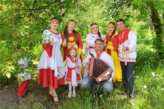г.Канаш: Хоровая акция За семью, за Родину, за Россию