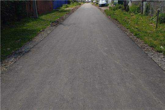 В рамках программы инициативного бюджетирования проводится ремонт автомобильной дороги по улице Чапаева в г. Канаш
