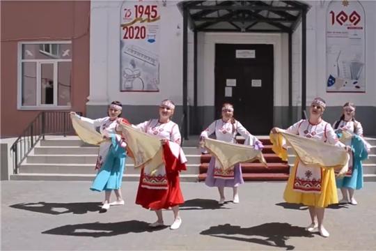 Коллектив городского Дворца культуры города Канаш поздравляет всех жителей и гостей Чувашии с Днём Республики!