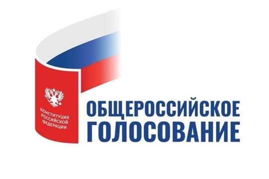 Глава администрации г. Канаш Виталий Михайлов принял участие в голосовании по внесению поправок в Конституцию Российской Федерации