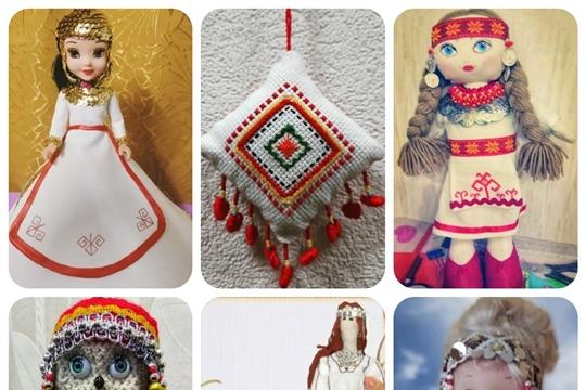 В Центральной библиотеке г. Канаш состоялось подведение итогов онлайн - конкурса «Мой чувашский сувенир»
