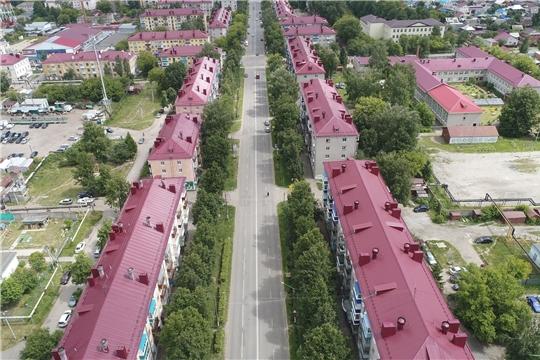 В городе Канаш проводится капитальный ремонт в 33 многоквартирных домах