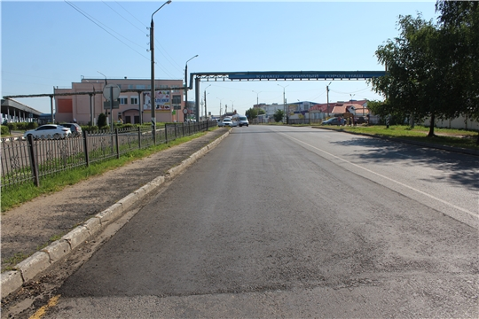 В рамках гарантийных обязательств в г. Канаш выполнены работы по устранению выявленных недостатков автомобильной дороги по «ул. Зеленая»
