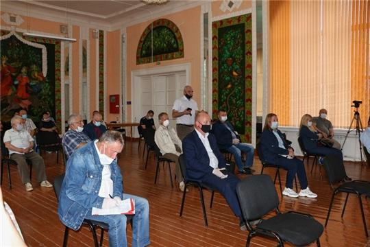В Канаше состоялась встреча кандидатов на должность Главы Чувашской Республики с депутатами органов местного самоуправления