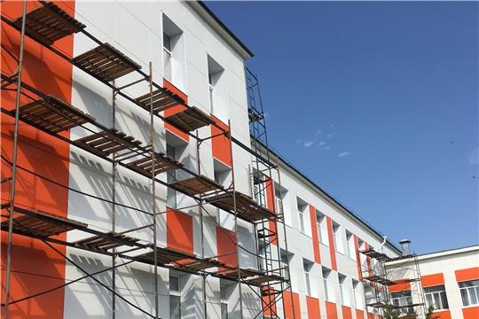 В рамках реализации государственной программы «Развитие образования» в г.Канаш проводится первый этап капитального ремонта МАОУ «Лицей государственной службы и управления»