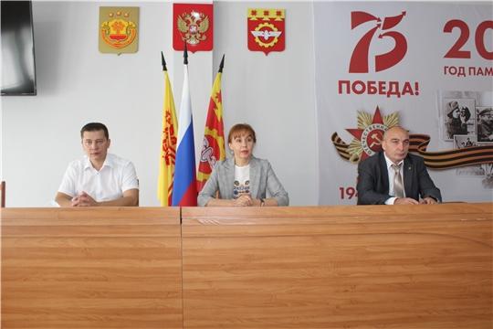 Министр труда и социальной защиты Чувашской Республики Алена Елизарова с рабочим визитом посетила город Канаш