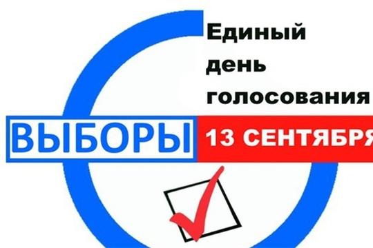 В городе Канаш на 18 часов проголосовали 35,22% избирателей