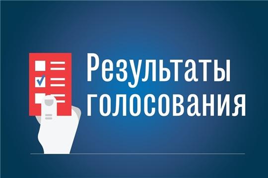 Предварительные итоги голосования