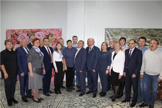 В г. Канаш состоялось первое заседание Собрания депутатов города Канаш VII созыва