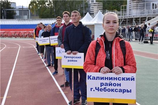 Легкоатлетическая сборная команда города Канаш подтвердила высокий уровень конкурентоспособности в рамках чемпионата и первенства Чувашской Республики