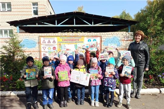 Библиотеки ЦБС г. Канаш продолжают работать с детскими садами по организации общения ребенка с книгой