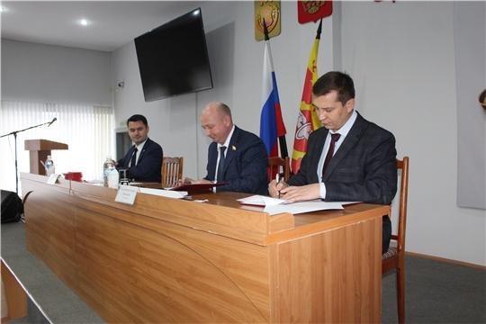 Виталий Михайлов утвержден на должность главы администрации города Канаш Чувашской Республики